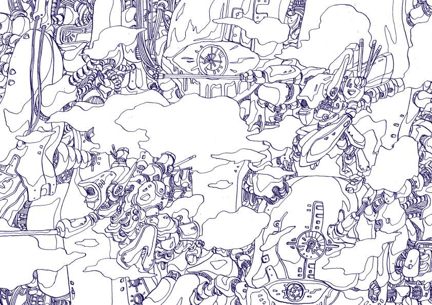 ぬりえ(無料ダウンロード) : クラフト クリスマス : すべての講義